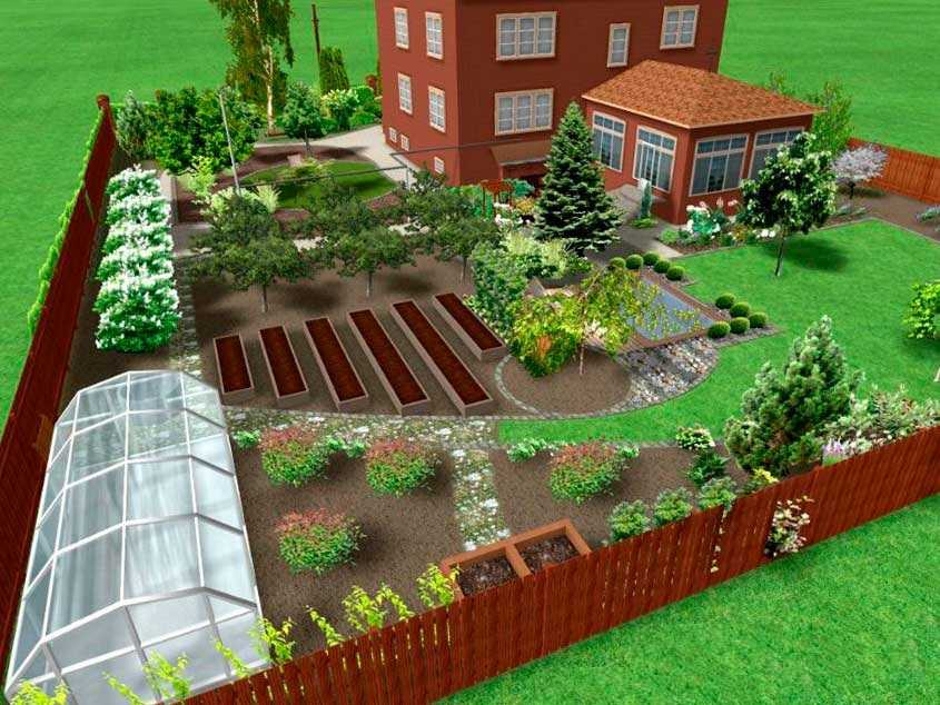 Как украсить участок возле своего дома