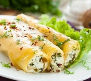 Как приготовить каннеллони с сыром