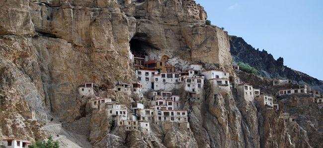 Монастырь на севере Индии — Пхугтал Гомпа