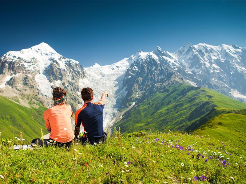 Самые популярные места для отдыха в горах