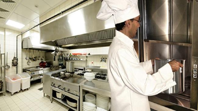 Подъемник для ресторана (ресторанный лифт)