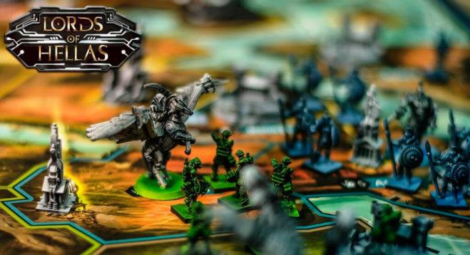 владыки эллады настольная игра