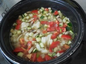 Как приготовить овощной суп «Стартовый»